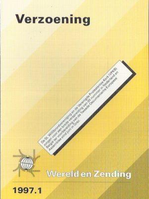 Verzoening-Wereld en zending 1997.1