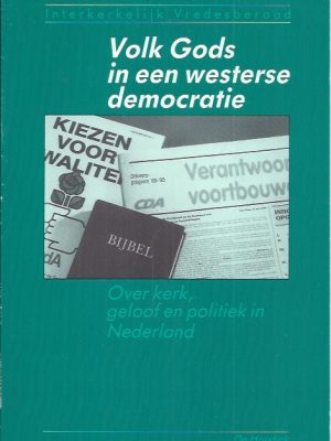 Volk Gods in een westerse democratie-Interkerkelijk Vredesberaad-9061843537