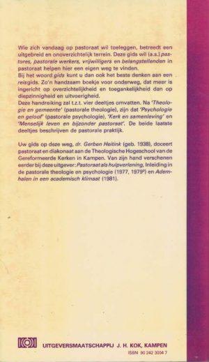 Gids voor het pastoraat, 1 Theologie en gemeente-Dr. Gerben Heitink-902423004_B