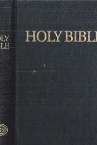 Holy Bible, Small Text Bible-Royal Ruby-9780907861218