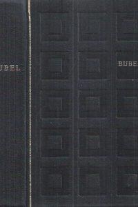 (Huis)Bijbel vertaling 1951(Zwart leer ruit print)