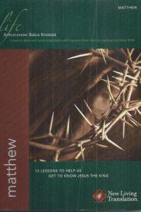 Matthew-Life Application Bible Studies-1414326475-9781414326474