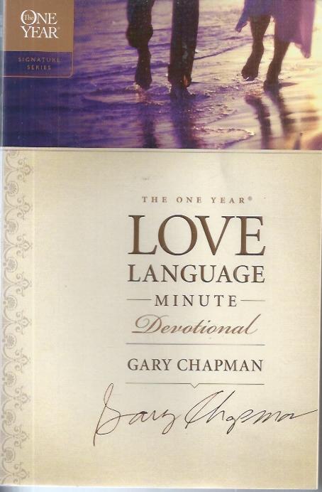 The One Year Love Language Minute Devotional-Gary Chapman-9781414329734