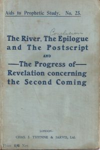 The River, The Epilogue and The Postscript-Theodore Roberts and Peter Rose 1923