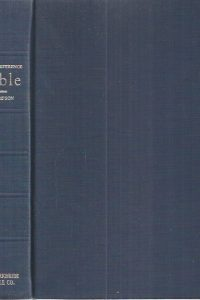 The Thompson chain-reference Bible, 4th improved edition, 60th print 1964