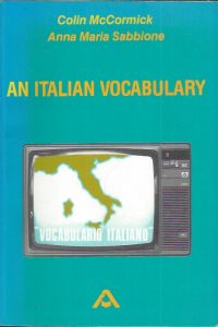 An Italian Vocabulary-English and Italian Edition-0867870648