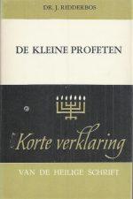 De kleine profeten-9024236339-J. Ridderbos-5e druk