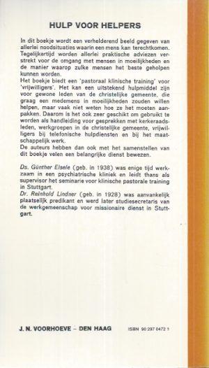 Hulp voor helpers-Gunther Eisele, Reinhold Lindner-9029704721_B
