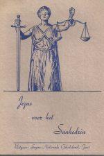 Jezus voor het Sanhedrin-A.U. Michelson