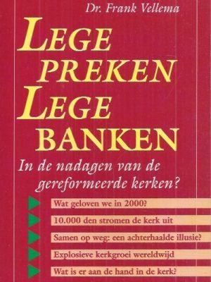 Lege preken, lege banken-Frank Vellema-9029712473