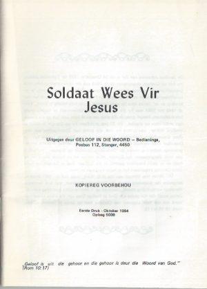 Soldaat wees vir Jesus-James van Zijl_P