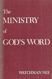 The Ministry of God's Word-Watchman Nee-1971