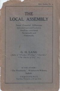 The local assembly-By G.H. Lang-1929
