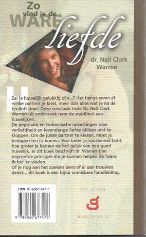 Zo vind je de ware liefde-Neil Clark Warren-9060677471-9789060677476_B