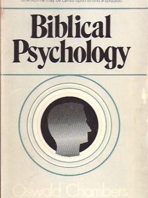 Biblical psychology-Oswald Chambers-0551052082