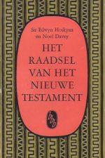 Het raadsel van het Nieuwe Testament -Sir Edwyn Hoskyns en Noel Davey