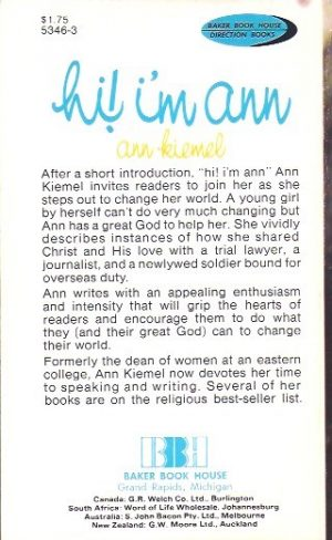 Hi! I'm Ann, one girl's witness-Ann Kiemel-0801053463_B