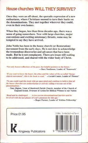 House Churches, Will They Survive-John Noble-0860656764_B