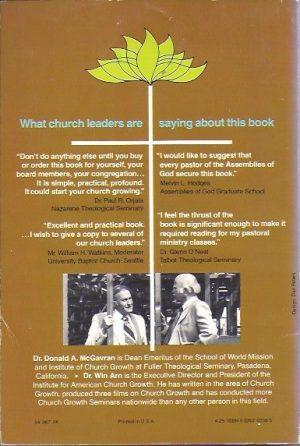 How to Grow a Church-Donald A. McGavran with Win C. Arn-0830702385_B