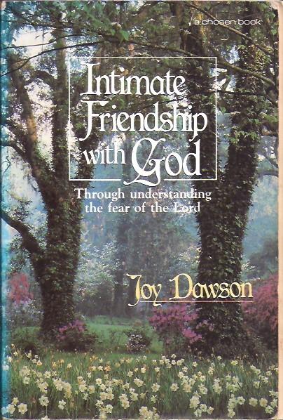 Intimate friendship with God-Joy Dawson-0800790847