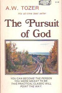 The Pursuit of God-A.W. Tozer-0889650101