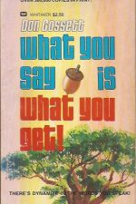 What You Say Is What You Get-Don Gossett-0883680661