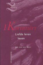 1 Korintiërs-liefde leren leven-Jan L. van der Wolf-9789023923190