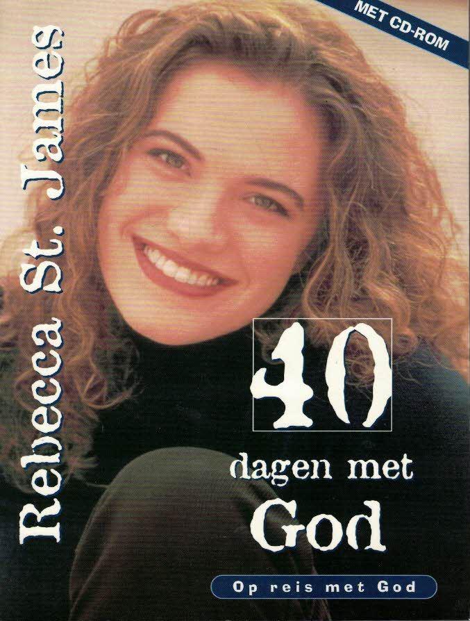 40 dagen met God op reis met God-Rebecca St. James-9063533098