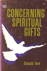 Concerning Spiritual Gifts-Donald Gee-0882434861