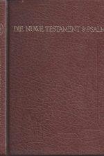 Die Nuwe Testament en, Die Psalms,1979-vertaling met woordelys en teksverwysings-Bybelgenootskap van Suid-Afrika-0798202742