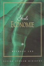 Gods economie-Witness Lee-1575937670-9781575937670