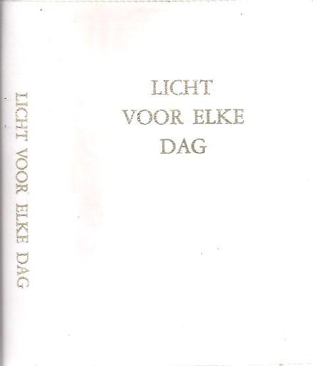 Licht voor elke dag-Samuel Bagster-9070005158-Wit 6e druk 1989