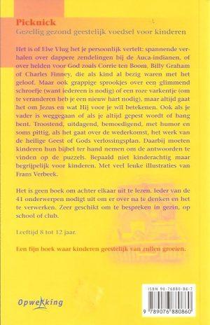 Picknick, gezellig gezond geestelijk voedsel voor kinderen-Else Vlug-9076880867-9789076880860_B
