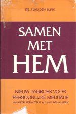 Samen met Hem-nieuw dagboek voor persoonlijke meditatie-J. van den Blink-9021046032-omslag geplakt