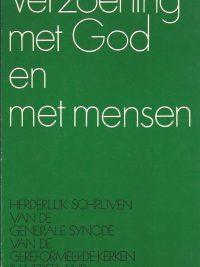Verzoening met God en met mensen-Generale Synode-9024207150