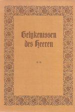Gelijkenissen des Heeren, Tweede Deel-schriftoverdenkingen van Ds. J.J. Knap Czn.-bij teekeningen van Eugene Burnand