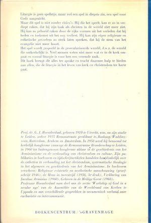 Riskant spel-liturgie in een geseculariseerde wereld-G.J. Hoenderdaal-9023905121_B