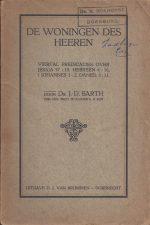 De woningen des Heeren-viertal predicaties door Ds. J.D. Barth in 1925