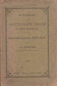 De worsteling van den aartsvader Jakob en zijne zegepraal-G.D. Krummacher