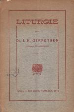 Liturgie-door dr J.H. Gerretsen
