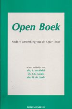 Open boek-nadere uitwerking van de open brief-9023911199