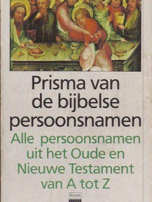 Prisma van de bijbelse persoonsnamen-Rob van Riet-902742201X