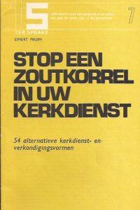 Stop een zoutkorrel in uw kerkdienst-Eimert Pruim-9021131072