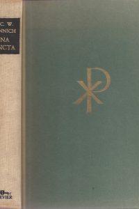 Una Sancta-De mogelijkheid der Christelijke eenheid-C.W. Monnich