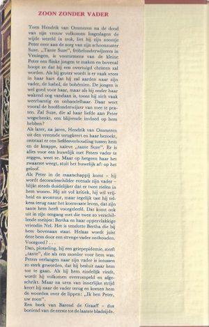 Zoon zonder vader-Barend de Graaff-1962_tekst