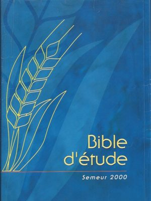 Bible d'etude, Version Semeur 2000-2914144164-9782914144162