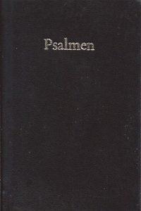 Psalmen, de berijming van 1773-zwart leer-11,5x7,5x1,5