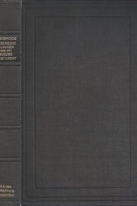 Algemeene canoniek van het Nieuwe Testament-F.W. Grosheide