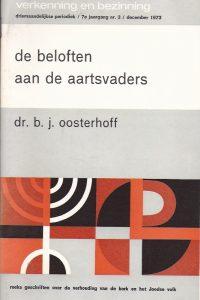 De beloften aan de aartsvaders-B.J. Oosterhoff