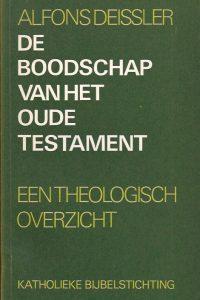 De boodschap van het Oude Testament-Alfons Deissler-906173035X